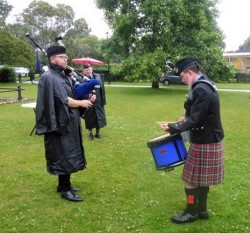 Pipe Major competition Piping with Rory Harper Drumming